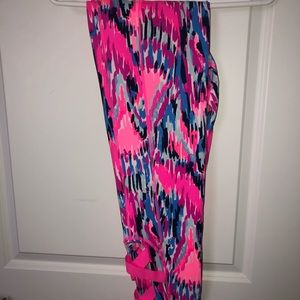 NWT luxletic Callie weekend leggings